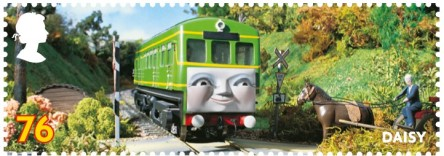 Daily the Diesel Railcar stamp