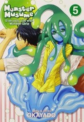 Monster Musume Volume Five Cover
