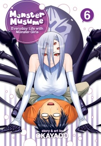 Monster Musume Volume 6 Cover